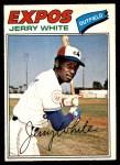 1977 O-Pee-Chee #81  Jerry White  Front Thumbnail
