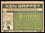1977 O-Pee-Chee #11  Ken Griffey  Back Thumbnail