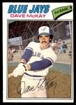 1977 O-Pee-Chee #40  Dave McKay  Front Thumbnail