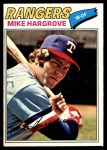 1977 O-Pee-Chee #35  Mike Hargrove  Front Thumbnail