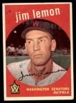 1959 Topps #215  Jim Lemon  Front Thumbnail