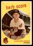 1959 Topps #88  Herb Score  Front Thumbnail