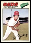1977 O-Pee-Chee #201  Pat Zachry  Front Thumbnail
