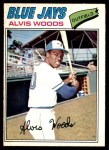 1977 O-Pee-Chee #256  Alvis Woods  Front Thumbnail