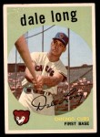 1959 Topps #414  Dale Long  Front Thumbnail
