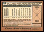 1978 O-Pee-Chee #25  Rennie Stennett  Back Thumbnail