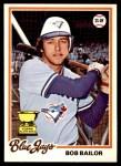 1978 O-Pee-Chee #148  Bob Bailor  Front Thumbnail
