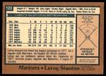 1978 O-Pee-Chee #123  Leroy Stanton  Back Thumbnail