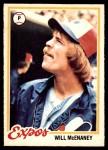 1978 O-Pee-Chee #81  Will McEnaney  Front Thumbnail