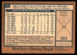 1978 O-Pee-Chee #111  Denny Doyle  Back Thumbnail