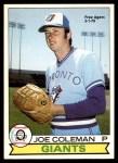 1979 O-Pee-Chee #166  Joe Coleman   Front Thumbnail