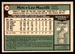 1979 O-Pee-Chee #183  Lee Mazzilli  Back Thumbnail