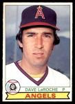 1979 O-Pee-Chee #317  Dave LaRoche  Front Thumbnail