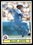 1979 O-Pee-Chee #26  Tom Underwood  Front Thumbnail