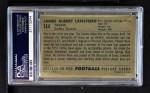 1952 Bowman Large #144  Jim Lansford  Back Thumbnail