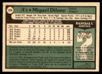 1979 O-Pee-Chee #256  Miguel Dilone  Back Thumbnail