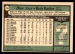 1979 O-Pee-Chee #259  Bob Bailor  Back Thumbnail