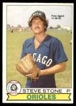 1979 O-Pee-Chee #115  Steve Stone   Front Thumbnail
