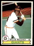 1979 O-Pee-Chee #107  Willie McCovey  Front Thumbnail