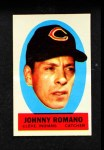 1963 Topps Peel-Offs #38  Johnny Romano  Front Thumbnail
