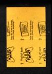 1963 Topps Peel-Offs #10  Orlando Cepeda  Back Thumbnail