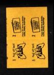 1963 Topps Peel-Offs #24  Jerry Lumpe  Back Thumbnail