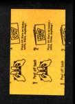 1963 Topps Peel-Offs #7  Jim Bunning  Back Thumbnail
