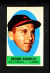 1963 Topps Peel-Offs #34  Brooks Robinson  Front Thumbnail
