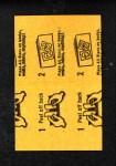 1963 Topps Peel-Offs #18  Chuck Hinton  Back Thumbnail