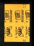 1963 Topps Peel-Offs #43  Ralph Terry  Back Thumbnail