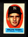 1963 Topps Peel-Offs #43  Ralph Terry  Front Thumbnail
