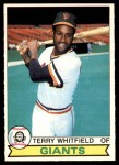 1979 O-Pee-Chee #309  Terry Whitfield  Front Thumbnail