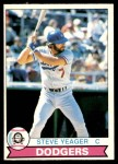 1979 O-Pee-Chee #31  Steve Yeager  Front Thumbnail