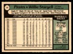 1979 O-Pee-Chee #22  Willie Stargell  Back Thumbnail