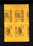 1963 Topps Peel-Offs #25  Art Mahaffey  Back Thumbnail