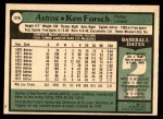 1979 O-Pee-Chee #276  Ken Forsch  Back Thumbnail