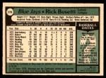 1979 O-Pee-Chee #279  Rick Bosetti  Back Thumbnail