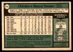 1979 O-Pee-Chee #115  Steve Stone   Back Thumbnail