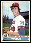 1979 O-Pee-Chee #34  Roger Erickson  Front Thumbnail