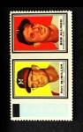 1962 Topps Stamp Panels #131  Roy McMillan / Bob Allison  Front Thumbnail