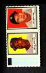 1962 Topps Stamp Panels #213  Bill White / Al Kaline  Front Thumbnail