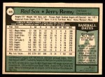 1979 O-Pee-Chee #325  Jerry Remy  Back Thumbnail