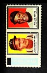1962 Topps Stamp Panels #38  Lew Burdette / Willie Mays  Front Thumbnail