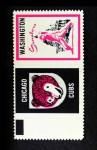 1962 Topps Stamp Panels #228   Cubs / Senators Front Thumbnail