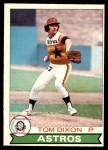 1979 O-Pee-Chee #186  Tom Dixon  Front Thumbnail