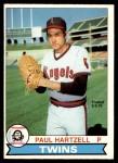 1979 O-Pee-Chee #212 TR Paul Hartzell   Front Thumbnail
