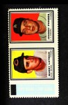 1962 Topps Stamp Panels #110  Barry Latman / Johnny Podres  Front Thumbnail