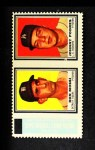 1962 Topps Stamp Panels #142  Don Mossi / Johnny Podres  Front Thumbnail