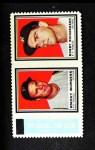 1962 Topps Stamp Panels #39  Smoky Burgess / Bobby Richardson  Front Thumbnail