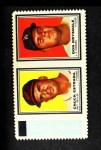 1962 Topps Stamp Panels #70  Chuck Estrada / Don Drysdale  Front Thumbnail
